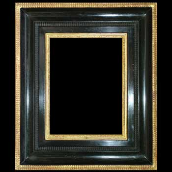 Sudbury Picture Frames - Dutch Ebonised Ripple